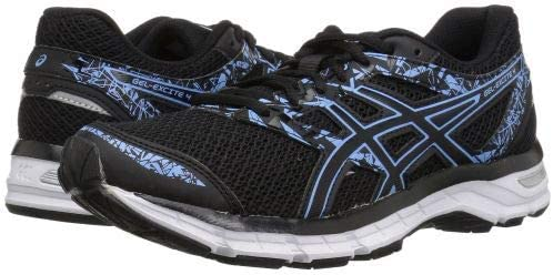 ASICS(アシックス) レディース 女性用 シューズ 靴 スニーカー 運動靴 Gel-Excite(R) 4 - Black/Blue Bell 10 B - Medium [並行輸入品]