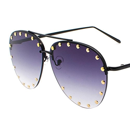gafas de hombre Aoligei de sol remache shing señora D Metal sol HD sol gafas gafas moda de EwfxqR0Sx
