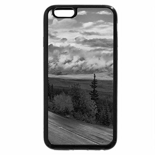 iPhone 6S Plus Case, iPhone 6 Plus Case (Black & White) - BOW RIVER VALLEY