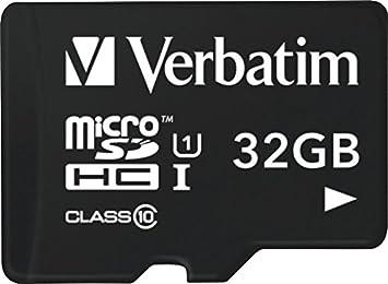 Verbatim Tarjeta microSDHC U1 para Tablet con Lector USB de ...