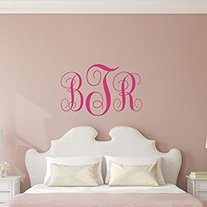 PERSONALISED GIRLS WALL NAME STICKER Art Childrens Bedroom Decal