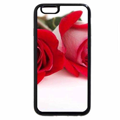 iPhone 6S / iPhone 6 Case (Black) Roses