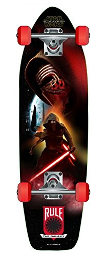 Star Wars Episode VII Cruiser Board- Complete & Ready To Ride Skateboard (Kylo Ren) (Palace Skateboards Complete)
