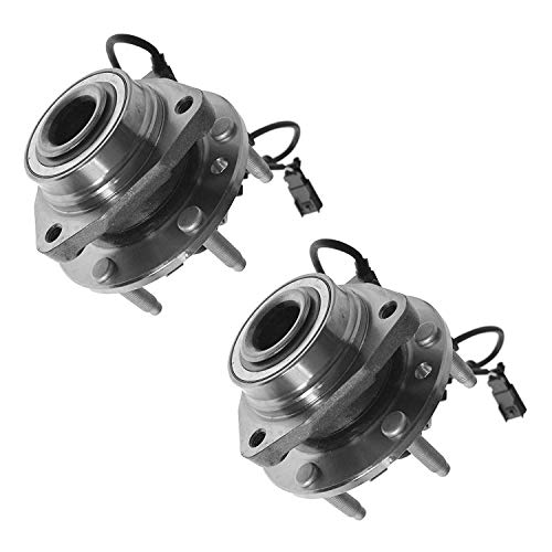 Bodeman - Pair (2) Front Wheel Hub & Bearing Assembly w/ABS for Chevy Trailblazer EXT SSR GMC Envoy XL Buick Rainier Olds Bravada Saab 9-7X 513188 x2 ()