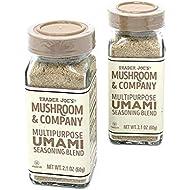 Trader Joe's Mushroom & Company Multipurpose UMAMI Seasoning Blend NET WT. (2 Packs) 2.1 OZ