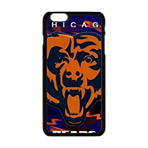 Happy Chicago Bears Fashion Comstom Plastic case cover For Iphone 6 Plus