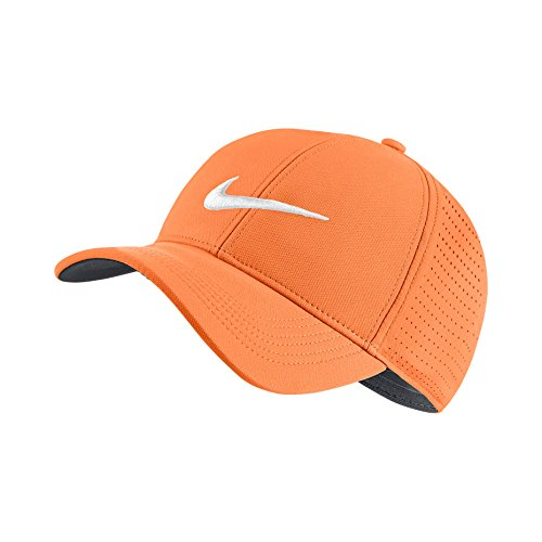 cy 91 Perforated Adjustable Golf Hat One Size 856831-856 (One Size) (Nike College Hats)
