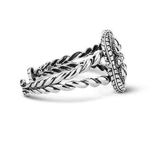 American West Genuine .925 Sterling Silver Interchangeable Cuff Bracelet by American West (Image #3)
