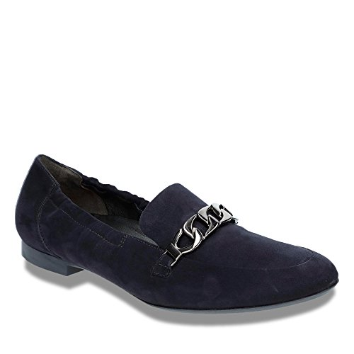 Paul Green 1072-002 Damen Slipper Halbschuh Blau
