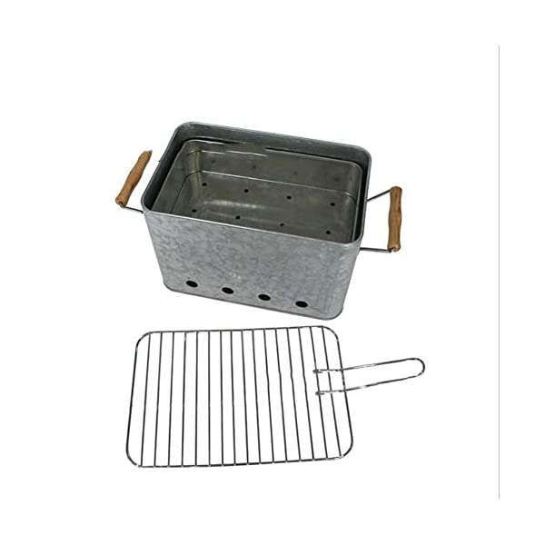 XB Barbecue Griglia a Carbone in Acciaio Inox Pieghevole Kit di Attrezzi per Barbecue con Borsa da Campeggio… 2 spesavip
