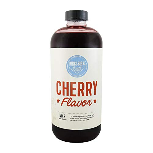 Hires Big H Cherry Syrup, Rich Cherry Syrup Great for Soda Flavoring and so much more 18 oz- 1 Pack