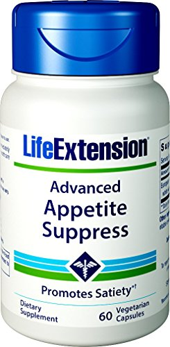Life Extension Advanced Appetite Suppress, 60 Vegetarian Capsules