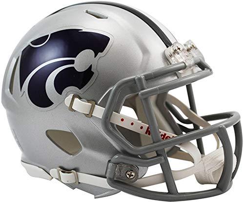 Sports Memorabilia Riddell Kansas State Wildcats Revolution Speed Mini Football Helmet - College Mini Helmets
