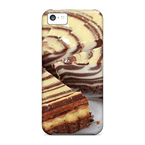 Ideal Frankqsmigh Case Cover For Iphone 5c(marble Cheesecake), Protective Stylish Case