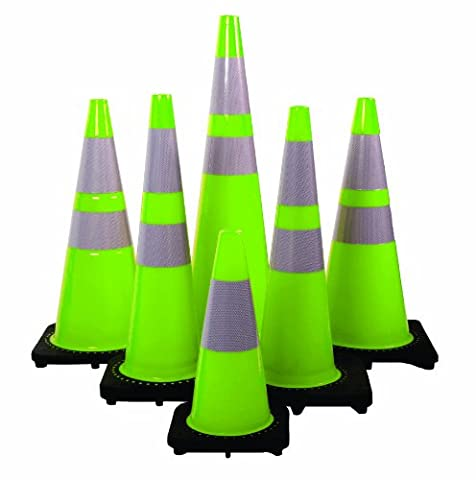 Mutual 17716 Traffic Cone with 3 lbs Reflective, 18