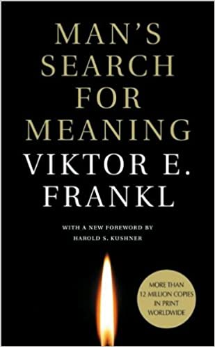 A Man's Search for Meaning book cover