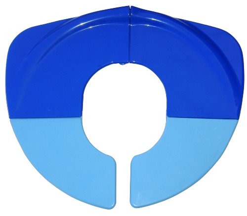BeBeLove USA Folding Toilet Seat for Toddlers, Blue (Dora Travel Potty Seat)