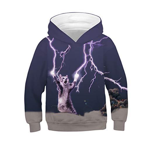 Amoma Femme Lightning Cat Sweat shirt nTTgqYfw