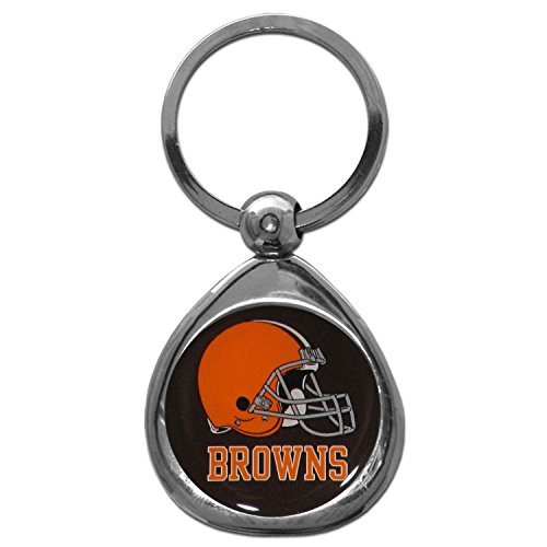 Cleveland Browns Key (NFL Cleveland Browns Key Chain, Metal/Chrome)