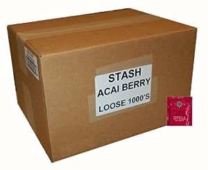 Stash Tea Acai Berry Herbal Tea, 1000 Tea Bags in 8.4 Pound Box