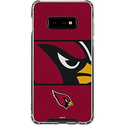 - Skinit Arizona Cardinals Zone Block Galaxy S10e Clear Case - Officially Licensed NFL Phone Case Clear - Transparent Galaxy S10e Cover