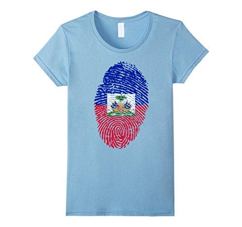 Haitian Fingerprint Flag T Shirt product image