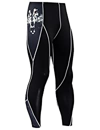 Panegy Men's Compression Pants Leggings Sports Apparel Training Long Tights
