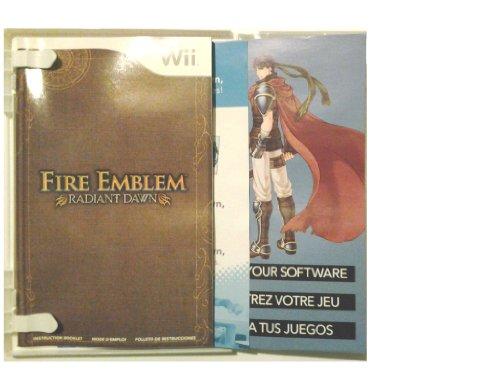 Fire Emblem Radiant Dawn Instruction Manual for Wii