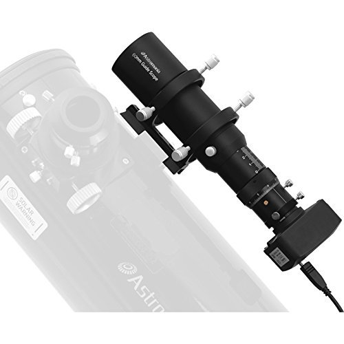 Astromania 60mm Compact Deluxe Finder & Guidescope Kit with 1.25'' Double Helical Focuser - Guiding with The Mini-Guide Scope: So Astrophotography is Easier and Less Equipment by Astromania (Image #6)