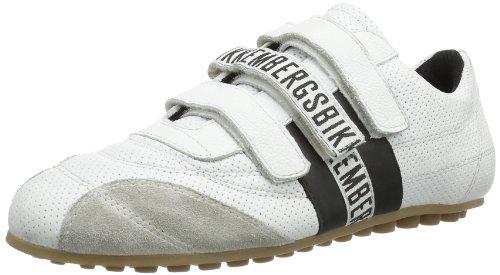 Bikkembergs - Soccer 526, Sneaker a collo basso Unisex - Adulto Bianco (White/Black)