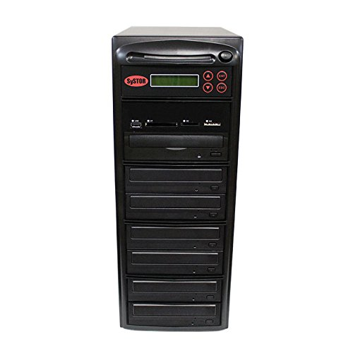 SySTOR All-in-One Multi-Media Flash Memory Back-up USB/SD/CF/MS/MMC to 1-6 CD DVD Duplicator by Systor Systems