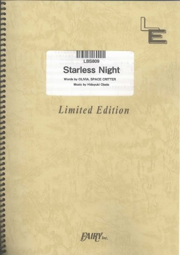 Starless Night (NANA Endings) by OLIVIA inspi'REIRA(TRAPNEST) LBS809 (BAND SCORE PIECE ON DEMAND)