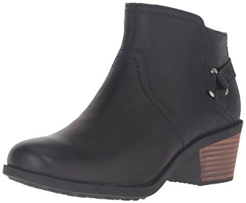 Teva Women's W Foxy Leather Boot, Black, 7.5 M US by Teva