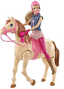 Barbie Saddle 'N Ride Horse