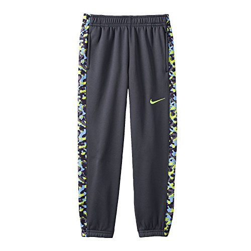 Boys 4-7 Nike Therma-FIT Fleece Pants, Anthracite Volt, 6