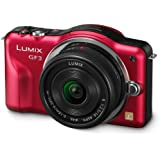 Panasonic Lumix DMC-GF3CR Kit 12.1 MP Digital Camera with 14mm Pancake Lens