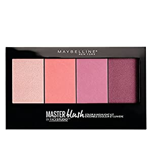 Maybelline New York Face Studio Master Blush Palette, Pink, 13.5g And Maybelline New York The Nudes Palette Eyeshadow…