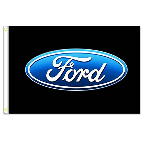 Home King Ford CAR Flag Banner 3X5FT 100% Polyester,Canvas H