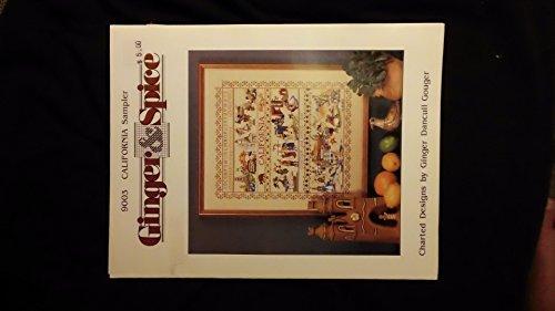 California Sampler Charted Cross-Stitch ()