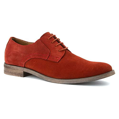 Stacy Adams Mens Corday Oxford Paprika Suede
