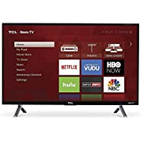 TCL 55S405 LED 4K 120 Hz Wi-Fi Roku Smart TV, 55 (Certified Refurbished)