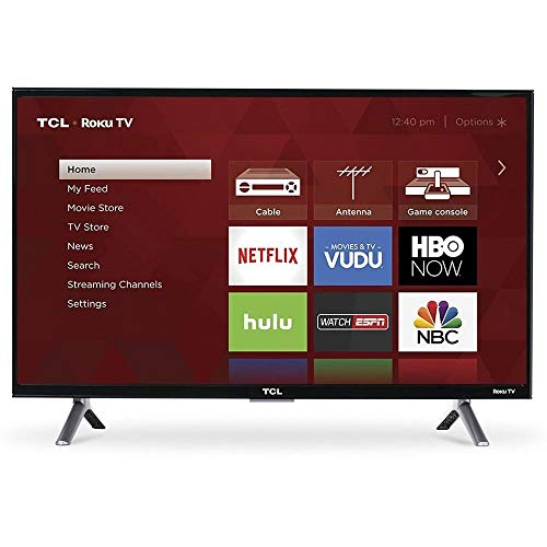 "TCL 55S405 LED 4K 120 Hz Wi-Fi Roku Smart TV, 55"" (Certified Refurbished)"