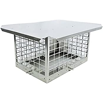 Amazon Com Chimney Cap Surgical Stainless Steel 9x13