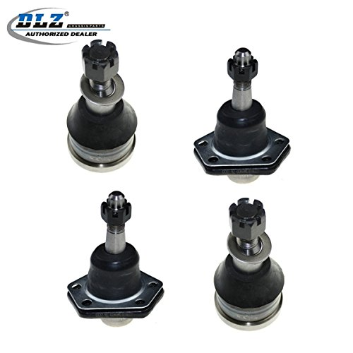DLZ 4 Pcs Front Lower Upper Ball Joint Compatible with Chevrolet C20 C30 G20 G30 P20 P30 R20 R30, GMC C25 C2500 C35 C3500 G35 G3500 P25 P2500 P35 ()