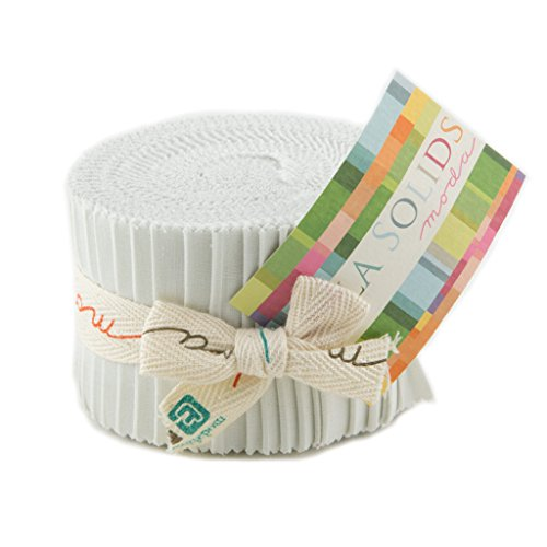 Bella Solids Feather Jr Jelly Roll (9900JJR 127) by Moda House Designer for Moda by MODA