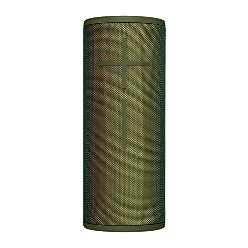 Ultimate Ears BOOM 3 Portable Wireless Bluetooth Speaker, Deep Rich Bass, Waterproof, Floating, One Touch Music Control, Connect Multiple Speakers, 15 Hours Battery Life - Forest Green