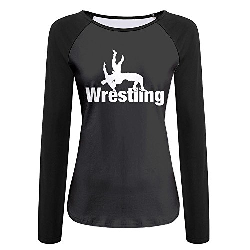 Women's Wrestling Clipart-1 Graphic Long-Sleeve T-Shirt by LOGZDRll