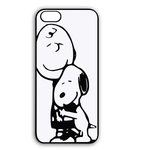 Coque,Snoopy Happy Dance Design Case Cover Cover for Coque iphone 6 4.7 pouce Hard Case Covers With Best Plastic - Cool Coque iphone 6 Phone Case Cover for Boys