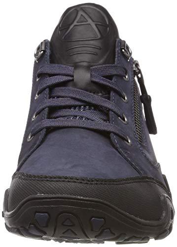 1 T Chaussures 97 black Fanita buk Femme Allrounder By Mephisto g Running nubuk De indaco zxqPtgUw