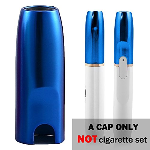 iQOS Cap IQOS Holder Cover Case for IQOS 2.4/2.4 Plus Electronic Cigarette, High Temperature resistance, Limited Edition Color,CAP ONLY (Blue)